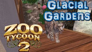 Zoo Tycoon 2: Glacial Gardens Part 7 - Big Cats in the Snow!