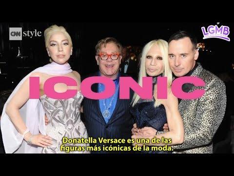 Lady Gaga narra tributo a la diseñadora Donatella Versace