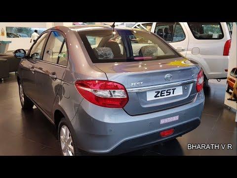 Tata zest 2018 walk around interior and exterior