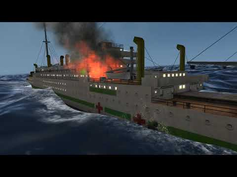 Sinking The Hospital Ship In High Waves (GWX/SH3)