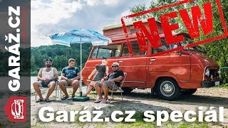Garáž.cz 01x11 SPECIÁL: Škoda 1203 porazila Mercedes V Marco Polo a VW California
