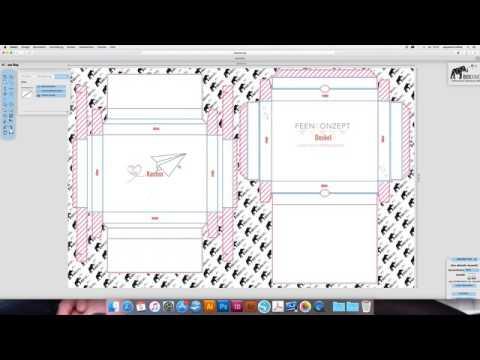 Der Editor - Verpackung gestalten - So einfach geht´s!