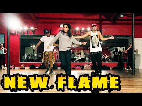 NEW FLAME - @ChrisBrown ft @Usher Dance Video | @MattSteffanina Choreography