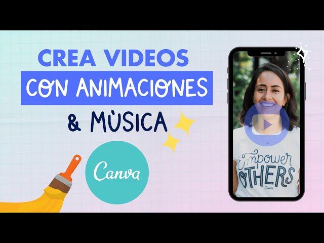 Cómo Crear Videos con Animaciones y Música en Canva (Gratis & Súper Fácil) | Aprende con Diana Muñoz