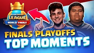 Clash Royale League: Top NA/EU Finals & Playoffs Moments!