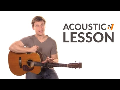 Glorious Day (Living He Loved Me) - Casting Crowns // Acoustic Lesson