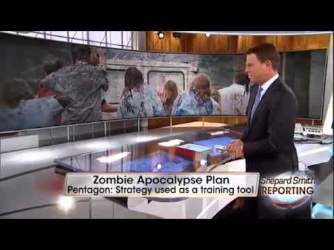 Zombie Apocalypse   Pentagon has contingency plans to deal with the Walking Dead (May 15, 2014).mp4