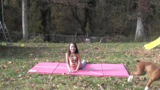 Gymnastics Warm Up   Annie the Gymnast   Acroanna