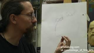 Рисунок для иконописцев. Пропорции и движение. 4 часть
