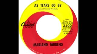 Mariano Moreno - As Tears Go By (Marianne Faithfull Cover)