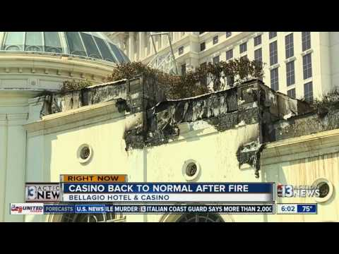 Work continues after Bellagio fire