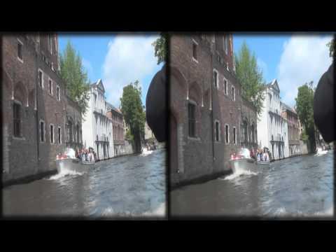 Bruges, Belgium HD 3D