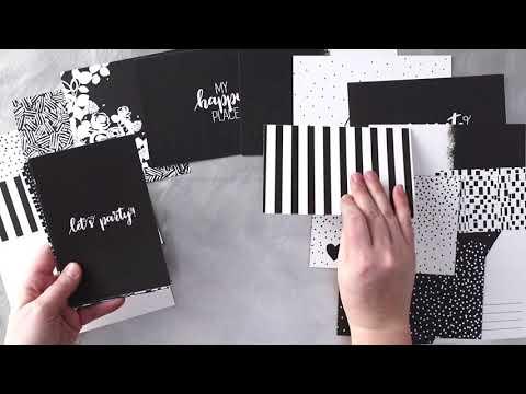 Black & White Mat Pack   Creative Memories Australia