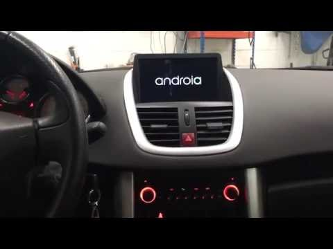 autoradio gps poste multimedia peugeot 207. Black Bedroom Furniture Sets. Home Design Ideas