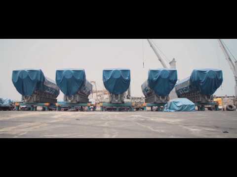 Logistique industrielle - Projet Tobène Sénégal - Bolloré Logistics