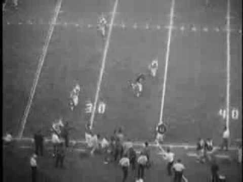 Dallas Texans vs Boston Patriots - October 29, 1961