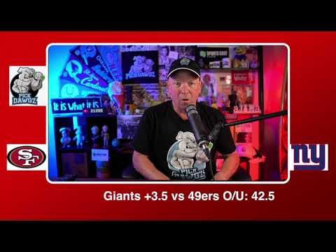 New York Giants vs San Francisco 49ers NFL Pick and Prediction 9/27/20 Week 3 NFL Betting Tips