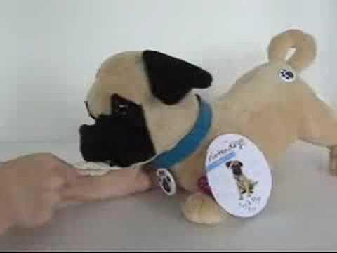 Nintendogs Interactive Play Pups Tug N Play Pug Youtube