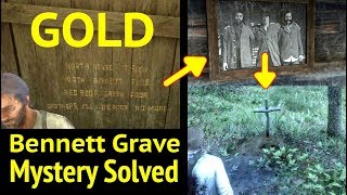 Bennett Brothers Grave & Gold Mystery Solved in Red Dead Redemption 2 (RDR2): Annesburg Mine Riddle