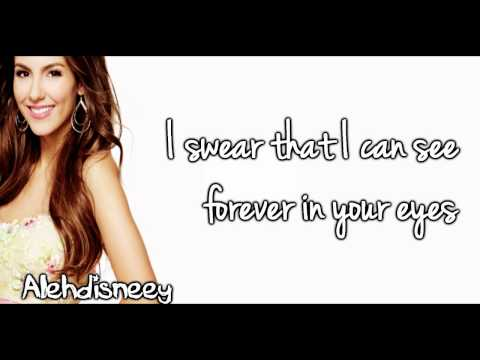 Victoria Justice ft Hunter Hayes | Almost Paradise lyrics on screen HD