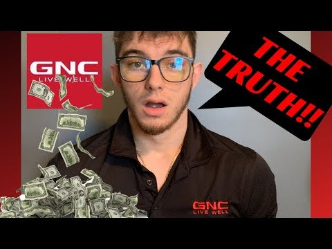 HOW MUCH MONEY DO YOU MAKE WORKING AT GNC?