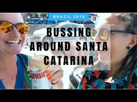 Brazil Travel, Sombrio to Florianopolis in Santa Catarina Vlog Tanja Kappler