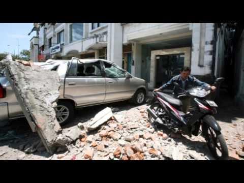 Bali Earthquake 2011