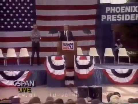 Bush/Quayle Campaign Rally - Phoenix, AZ - Oct 30, 1992