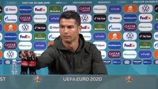 video: Ronaldo snub wipes $4bn off Coca-Cola's market value