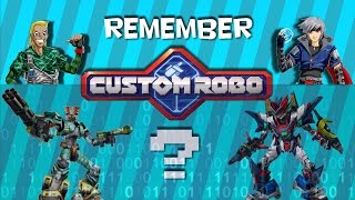 Remember Custom Robo?
