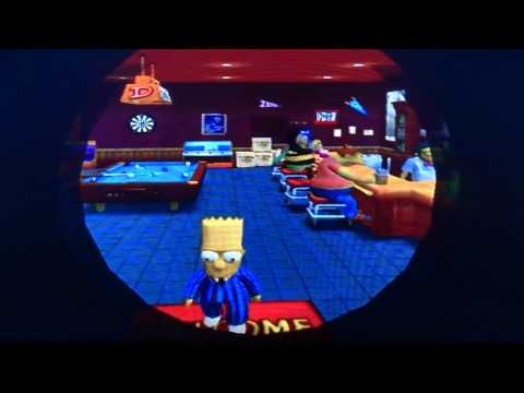 Let's Play The Simpsons: Hit and Run Part 6 - Eat my shorts