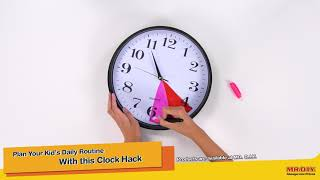 Plan Your Kid's Daily Routine With this Clock Hack!