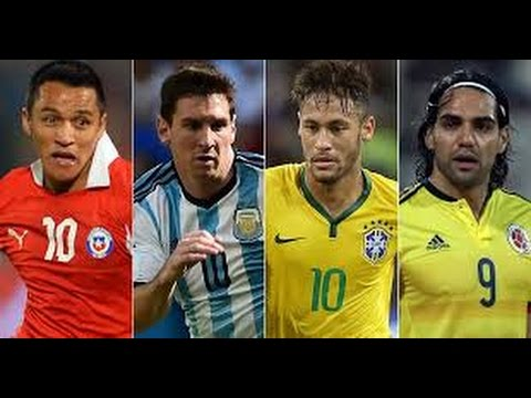 Copa America 2015- Best players (Man of the match players) Skills,tricks,dribbling