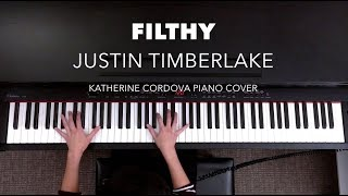 Justin Timberlake - Filthy (HQ piano cover)