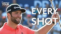 Every shot of Jon Rahm's $5million winning round in Dubai