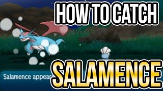 How to Catch Salamence & Other RARE Pokemon using SOS battles in Sun + Moon!