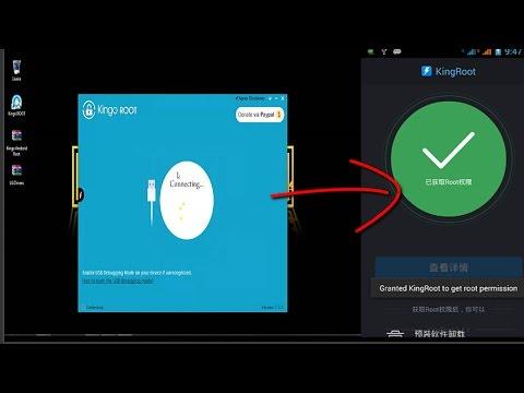ROOT android dengan pc (kingo root), work 100% || youtube 2017