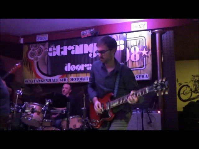 Backdoor Man - The Strangers The Doors tribute band