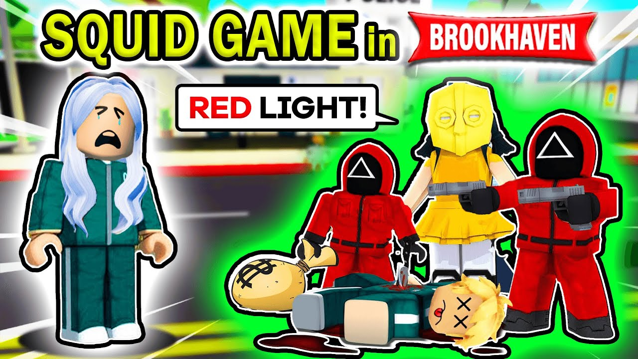 Download SQUID GAME IN BROOKHAVEN (Roblox Brookhaven RP 🏠)