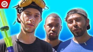 Slip N' Slide Baseball   YouTuber Battle