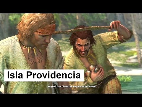 Assassin's Creed 4 Isla Providencia Animus fragment Treasure map Visit old friends Red howler monkey