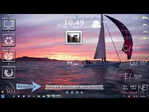 Hướng dẫn làm đẹp desktop với Rainmeter by Thanh Hải