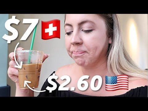 What I spend in a day in the most EXPENSIVE city: Geneva, Switzerland Study Abroad