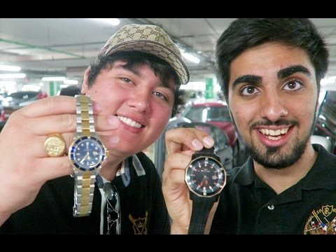 Watch Shopping in Dubai !!!