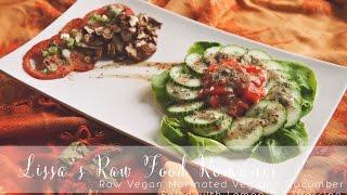 Recipe: Marinated Veg/cucumber Salad W/ Lemon Dill
