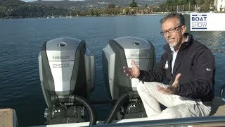 [ITA] EVINRUDE E-TEC G2 - 60 nodi! - Review- The Boat Show