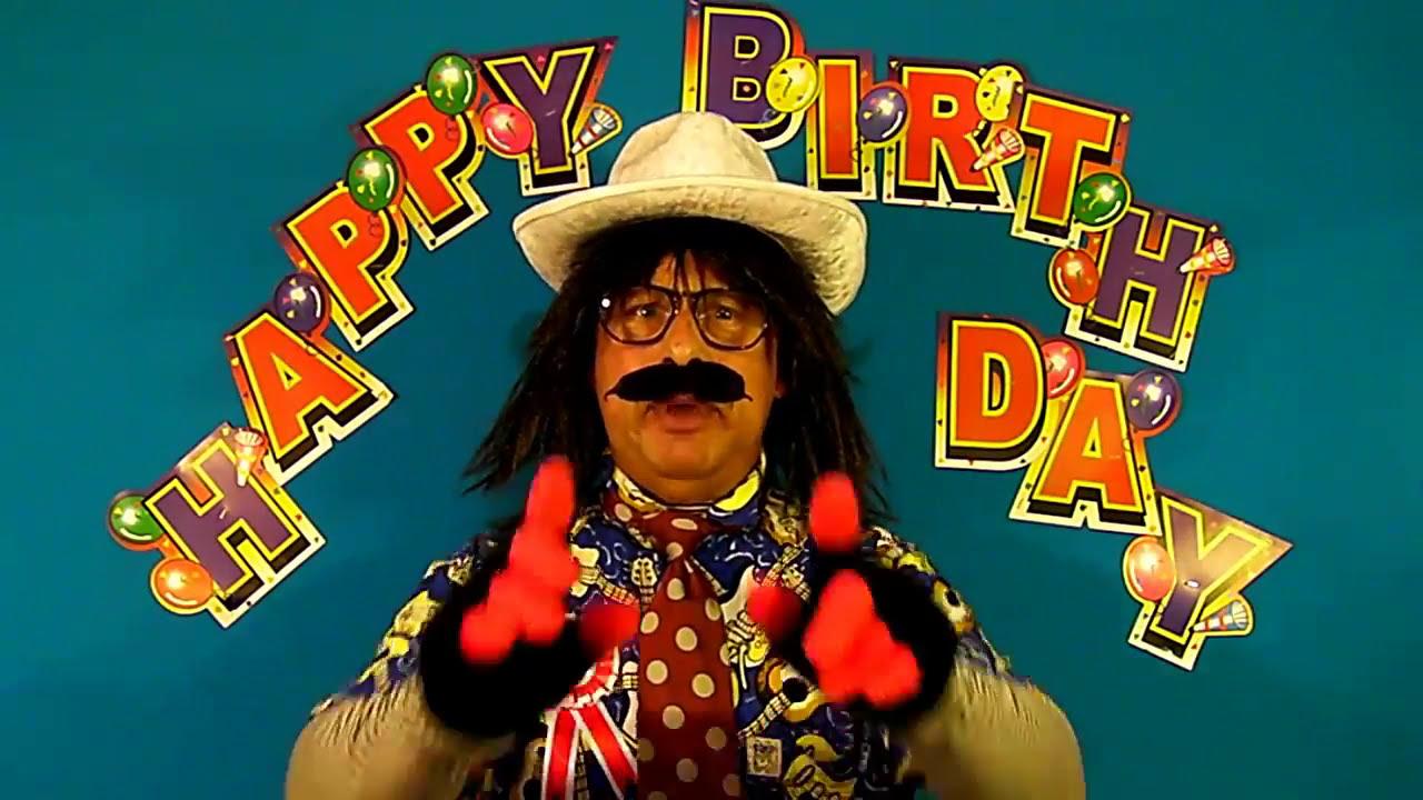 Funny Happy Birthday BILLY. BILLIE. BILLI Song (Lady