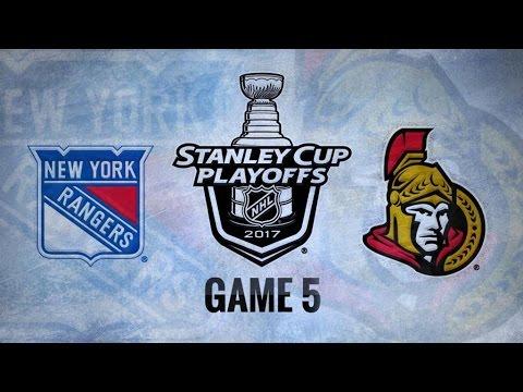 New York Rangers Vs. Ottawa Senators Game 5 | NHL Game Recap | May 6, 2017 | HD