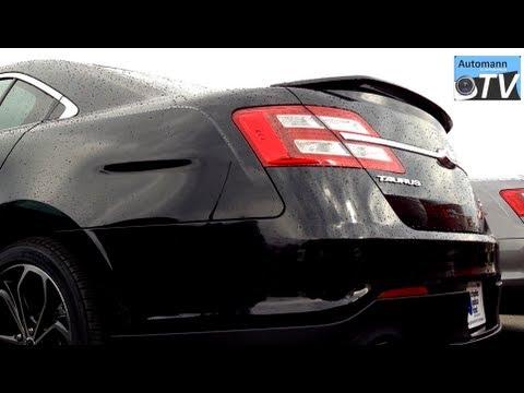 2013 Ford Taurus Sho Twin Turbo 365hp First Impression 1080p