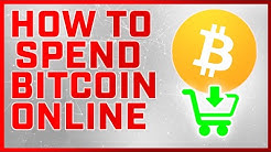How To Spend Bitcoin Online - Best 5 Places [SUPER EASY]